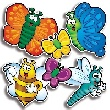 Accent Punch-Outs Bees, Bugs & Butterflies (66 pieces)